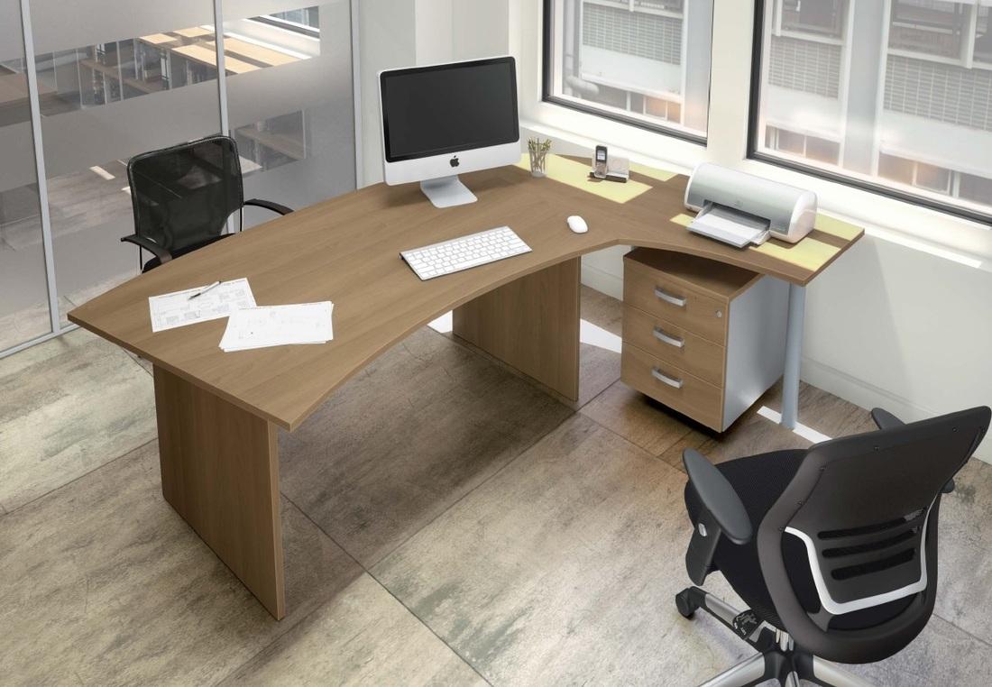 Bureau D Angle Arrondi cm+ mobilier de bureau agencement drôme ardèche france cm